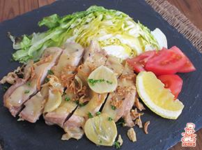 鶏肉のガリバタ®焼き