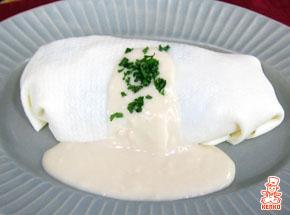 ホワイトオムライス