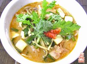 まろやかキムチ鍋の変わり鍋レシピ