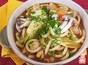 牛もつの洋風味噌煮込みうどん鍋の変わり鍋レシピ