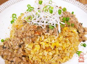 肉みそあんかけチャーハン|餡かけ|ご飯レシピ
