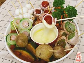 チーズとろける!パーティー串鍋
