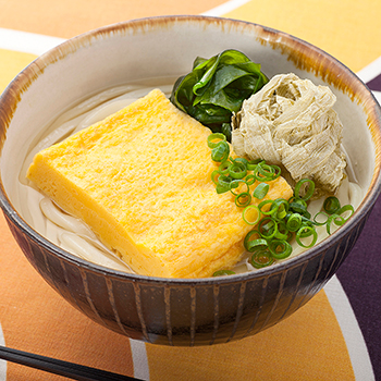 UDON(Noodle) with thick omelette