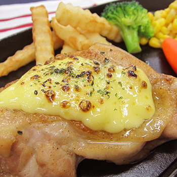 Baked Mayonnaise Chicken Steak