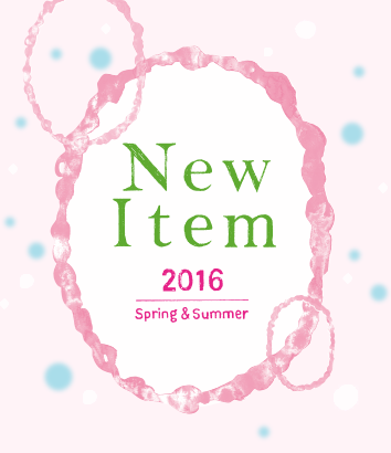 New Item 2015 Spring & Summer